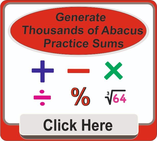Abacus sheet Generator